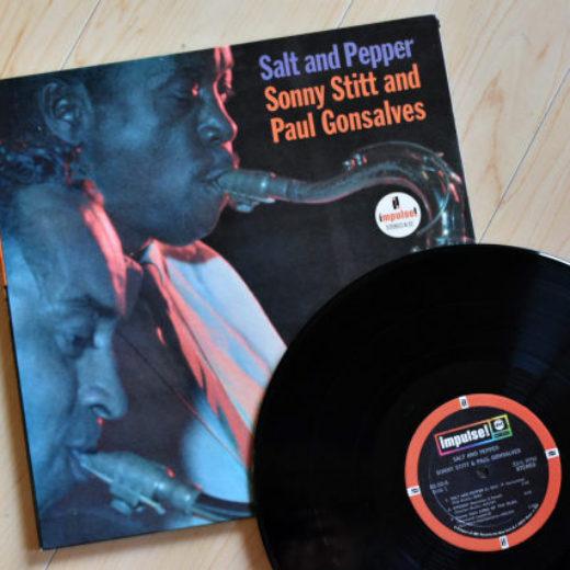 Sonny Stitt and Paul Gonsalves – Solt and Pepper